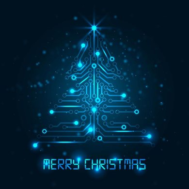 10123-Vector-blue-glowing-Technology-Christmas