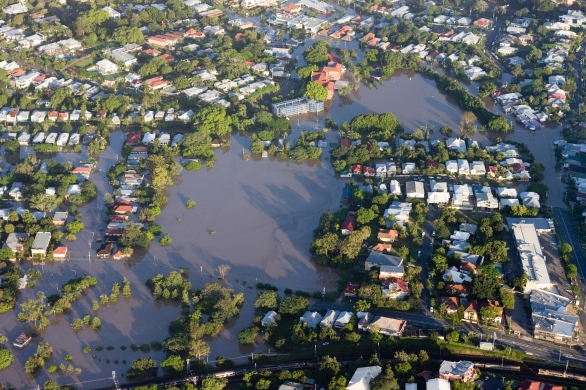 Brisbane River flood 2011